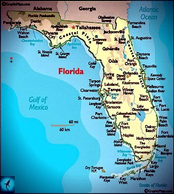 Akuly Floridy I Kalifornii